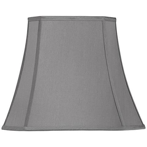 Morell Gray Rectangular Lamp Shade 7/10x12/16x13 (Spider)