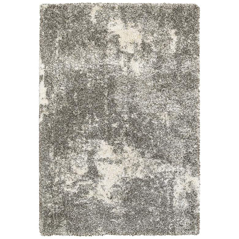 """Henderson 5503H 5'3""""x7'6"""" Gray and Ivory Area Rug"""