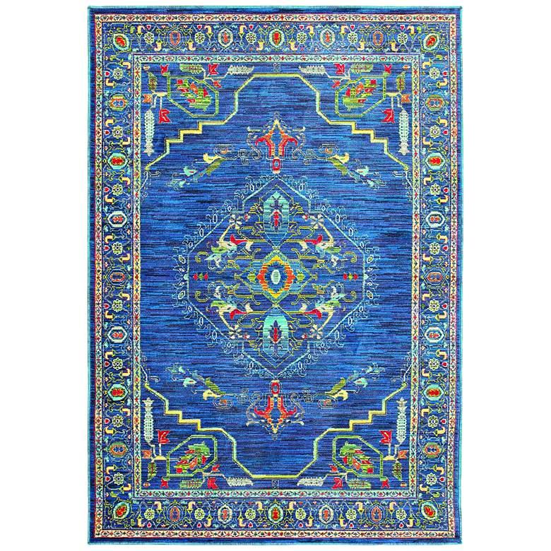 Joli 564B4 Multi-Color Blue Area Rug