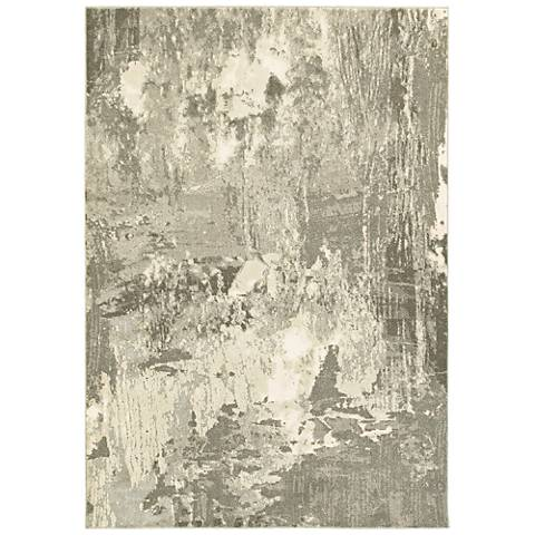 Rowan 2067W Ivory and Gray Area Rug