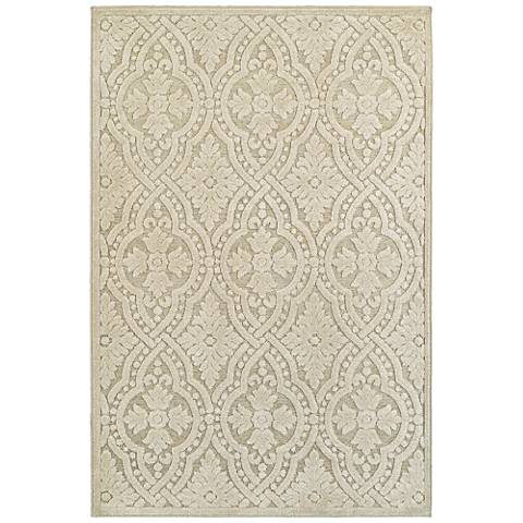 Elisa 501W3 Sand and Beige Area Rug