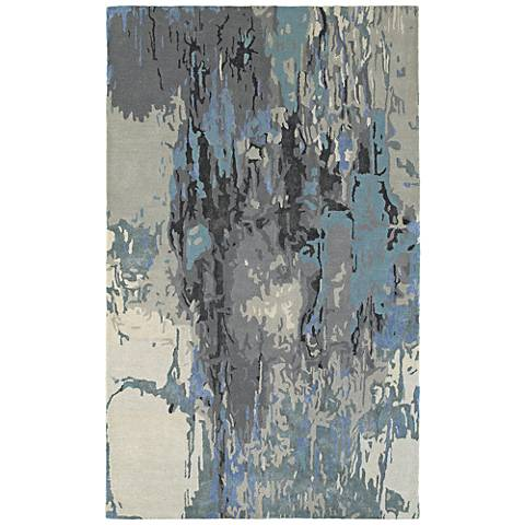 Oriental Weavers Galaxy 21906 Blue and Gray Area Rug