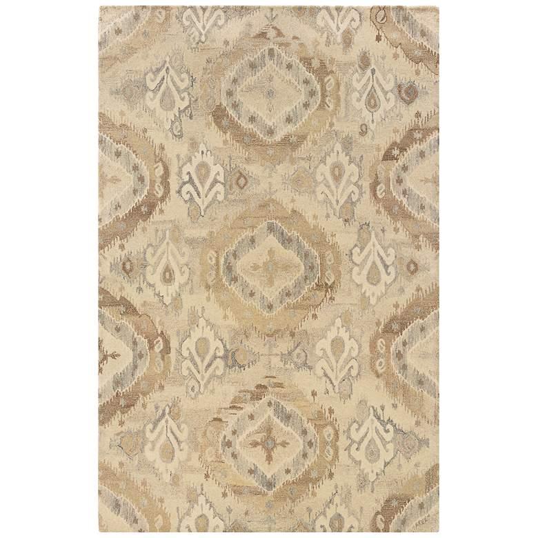 Anastasia 68003 Beige and Ivory Wool Area Rug