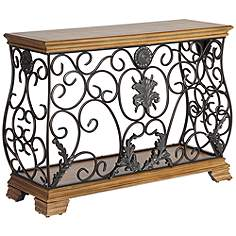 Country Cottage Sofa Console Tables Tables Lamps Plus - Country cottage console table