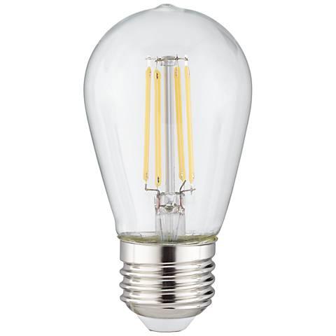Clear 4 watt st14 dimmable led outdoor party light bulb 32n17 clear 4 watt st14 dimmable led outdoor party light bulb aloadofball Gallery