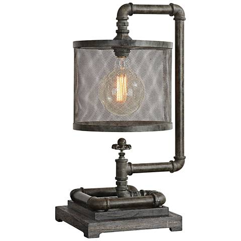 Uttermost Bristow Rust Bronze Desk Lamp