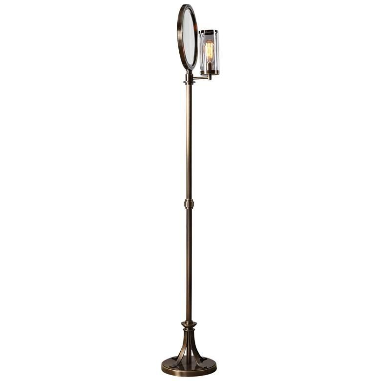 "Uttermost Blanchet 68 1/2"" High Iron Floor Lamp"