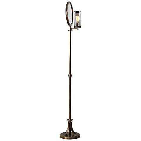 "Uttermost Blanchet 68 1/2"" High Iron Floor Lamp"