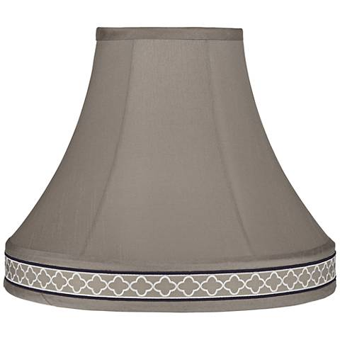 Morell Khaki Bell Lamp Shade 6x14x12 (Spider)