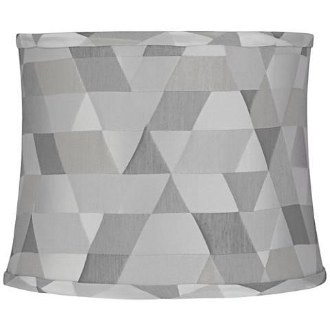 Sichuan Gray Geometric Round Lamp Shade 12x13x10 (Spider)