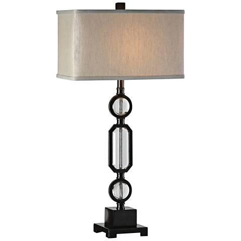 Uttermost Jugovo Dark Gun Metal Bronze Table Lamp