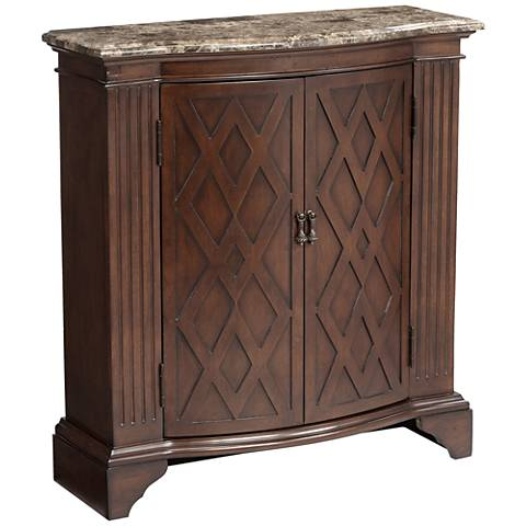 Barrister Warm Brown Traditional 2-Door Chest