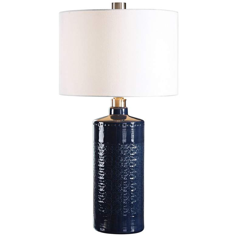 Uttermost Thalia Blue Ceramic Table Lamp