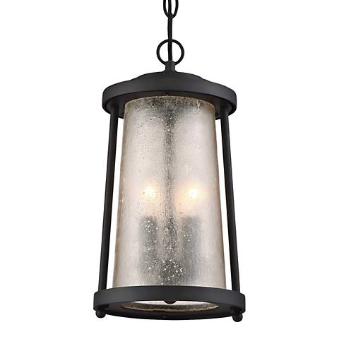 "Haverford Grove 16 1/4"" High Bronze Outdoor Hanging Light"