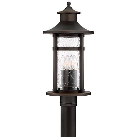 "Highland Ridge 20 1/4"" High Bronze Outdoor Post Light"