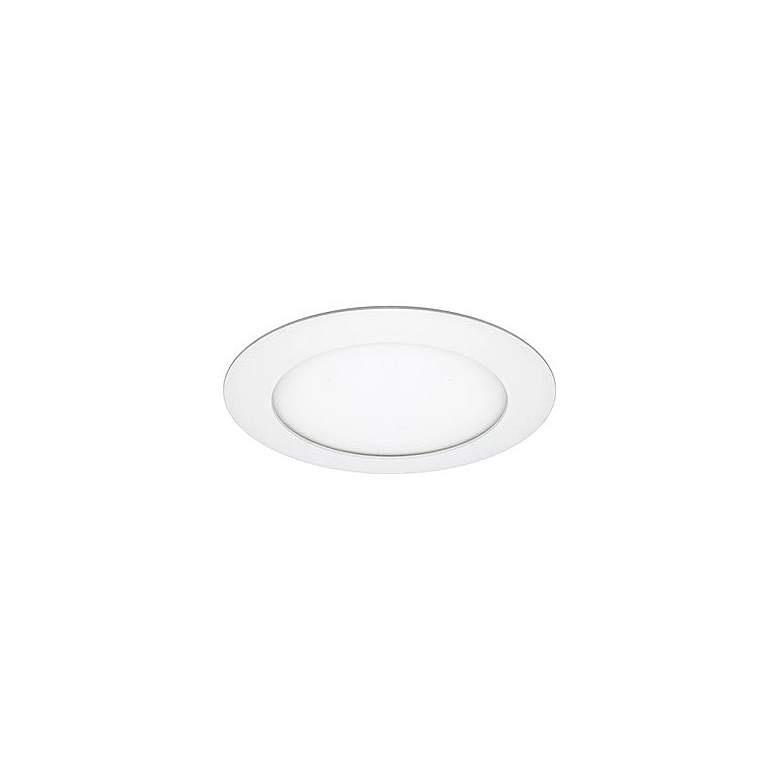 "Can and Housing Free 4"" White Round 9 Watt LED Retrofit Trim"