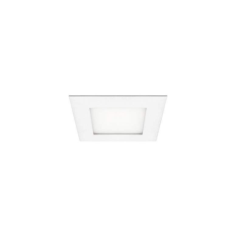 "Can and Housing Free 6"" Square 12 Watt LED Retrofit Trim"