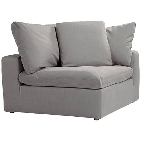 Skye Peyton Slate Modular Corner Chair