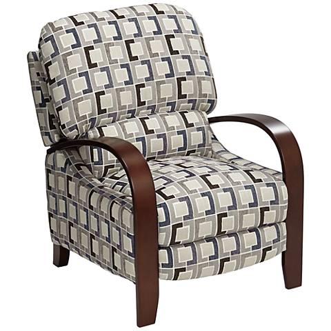 Cooper Timeline Denim 3-Way Recliner Chair