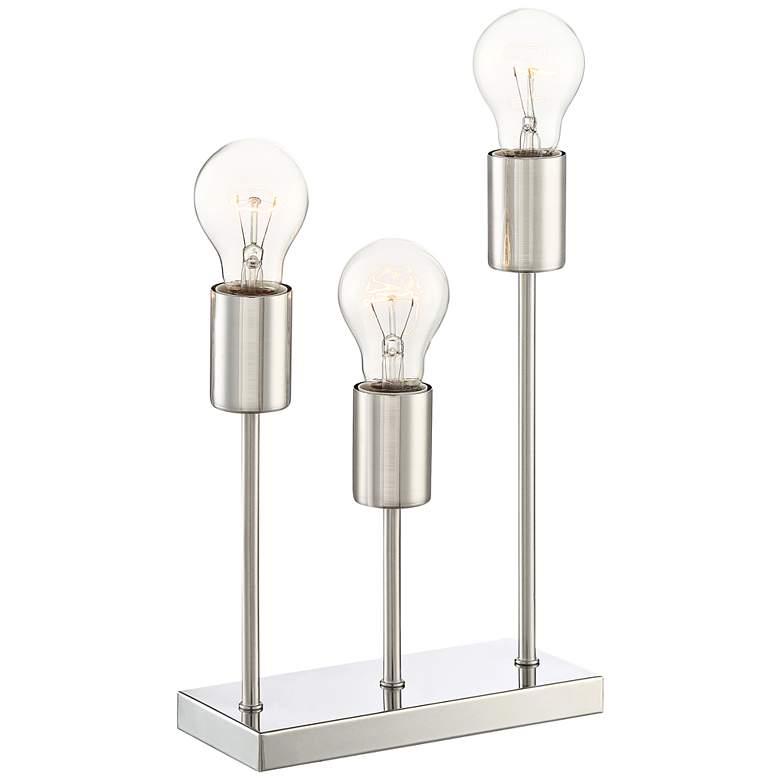 """Gabi 11"""" High Metal 3-Light Accent Table Lamp"""