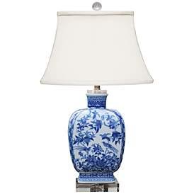 Blue White Table Lamps Lamps Plus