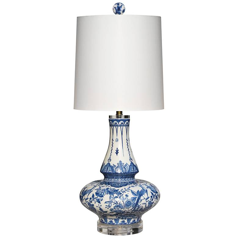 Yulin Blue and White Porcelain Table Lamp
