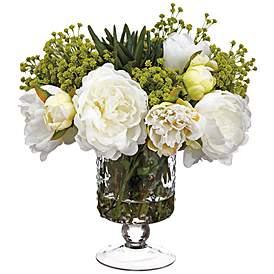 Artificial Flower Arrangements Designer Faux Flowers Lamps Plus