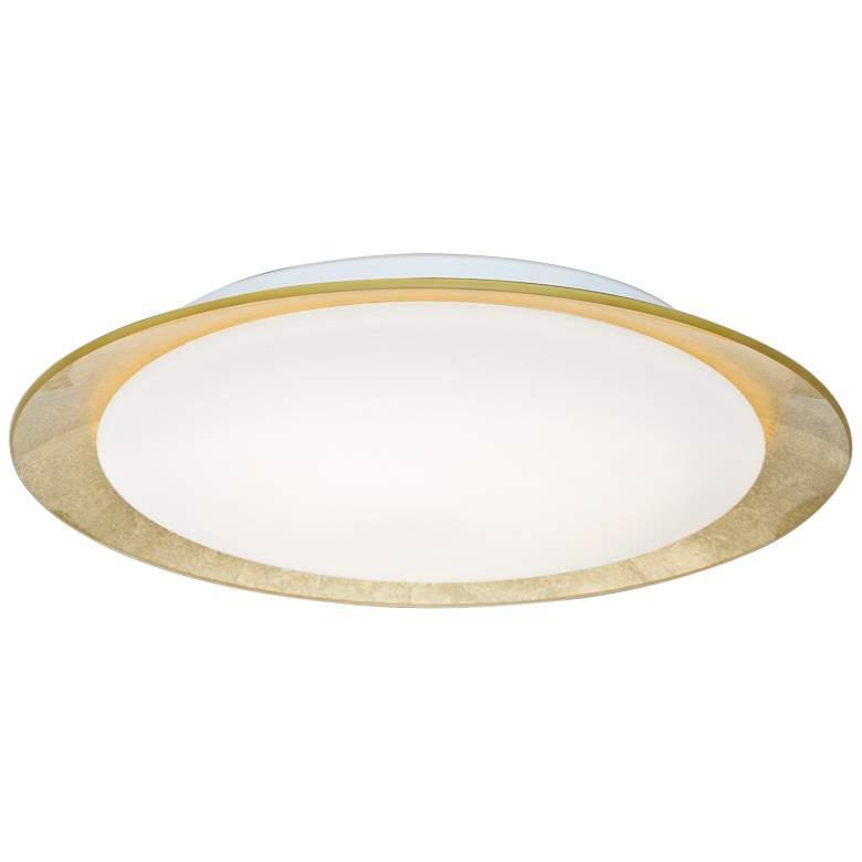 """Besa Tuca 15 1/2""""W Gold Foil Opal Matte"""