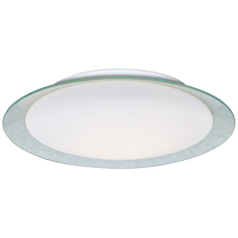 """Besa Tuca 19 1/4""""W Silver Foil Opal Matte"""
