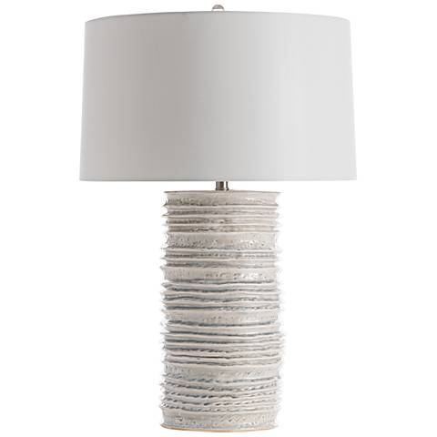 Arteriors Home Homer Celadon Wash Ceramic Table Lamp