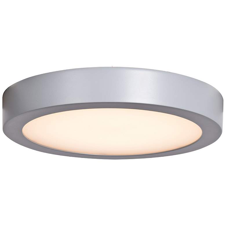 Ulko Exterior 9 Wide Silver Led Outdoor Ceiling Light 32y40 Lamps Plus
