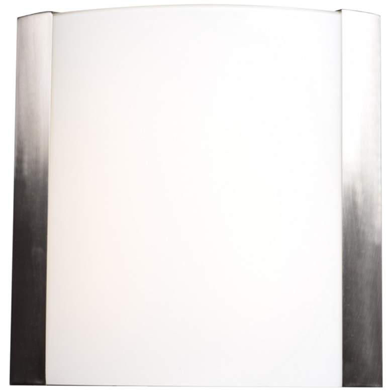 """West End 15"""" High Brushed Steel LED Wall Sconce"""