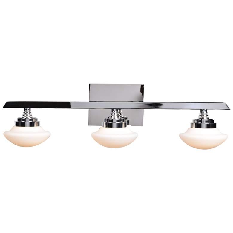 """Atomiser 25"""" Wide Chrome 3-LED Bath Light"""