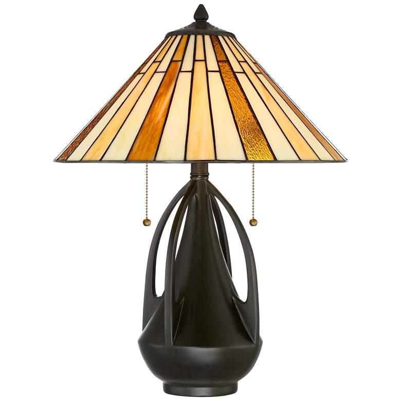 Robert Louis Tiffany Clark Accent Table Lamp
