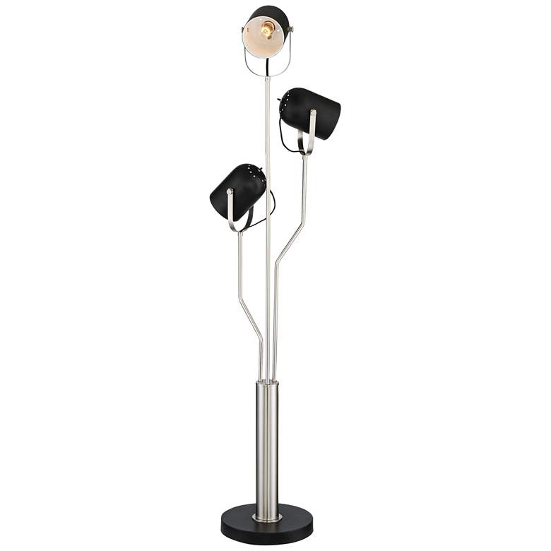 Possini Trillium 3-Light Director Style Floor Lamp