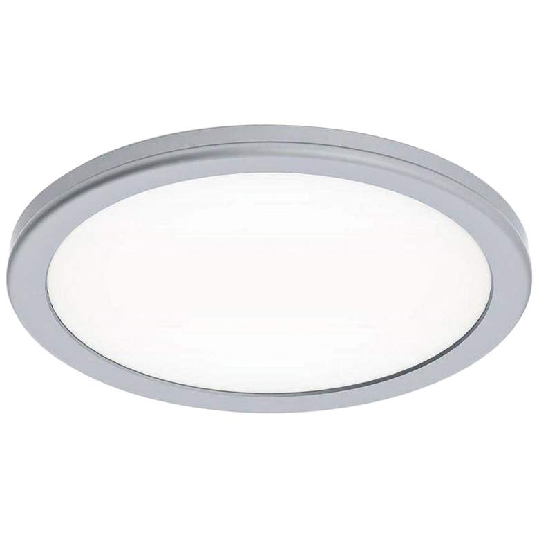 "dweLED Geos 10 1/4"" Wide Titanium LED Ceiling Light"