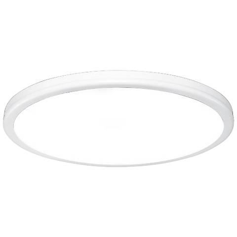 "dweLED Geos 15"" Wide Titanium LED Ceiling Light"