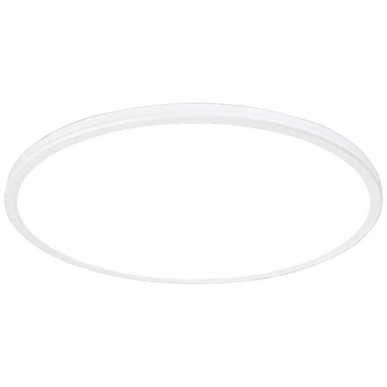 """dweLED Geos 22"""" Wide White LED Ceiling Light"""