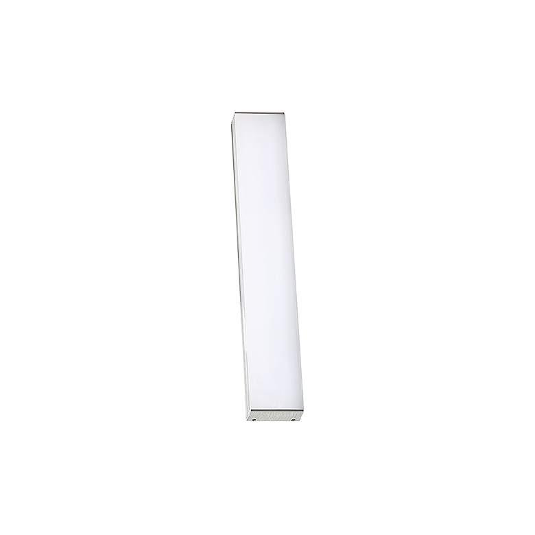 """dweLED Strip 18"""" Wide Brushed Aluminum 3000K LED Bath Light"""