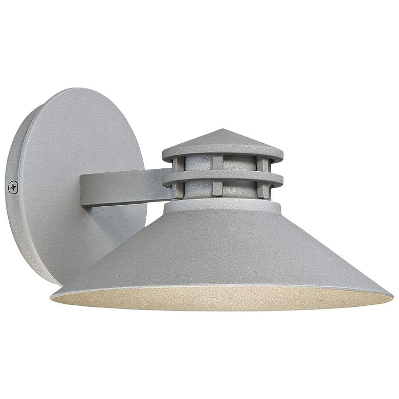 """dweLED Sodor 5"""" High Graphite LED Outdoor Wall Light"""