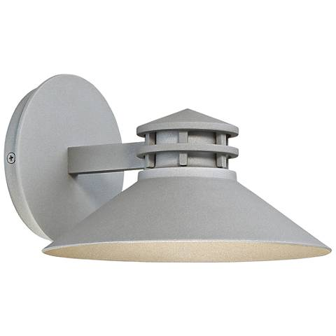 "dweLED Sodor 5"" High Graphite LED Outdoor Wall Light"
