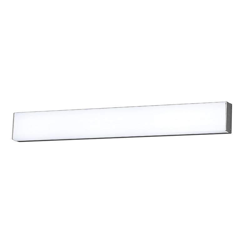 """dweLED Strip 24"""" Wide Brushed Aluminum 3000K LED Bath Light"""