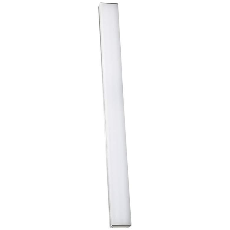 """dweLED Strip 36"""" Wide Brushed Aluminum 3000K LED Bath Light"""