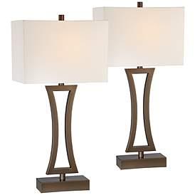 Bronze Table Lamp Sets Lamps Plus