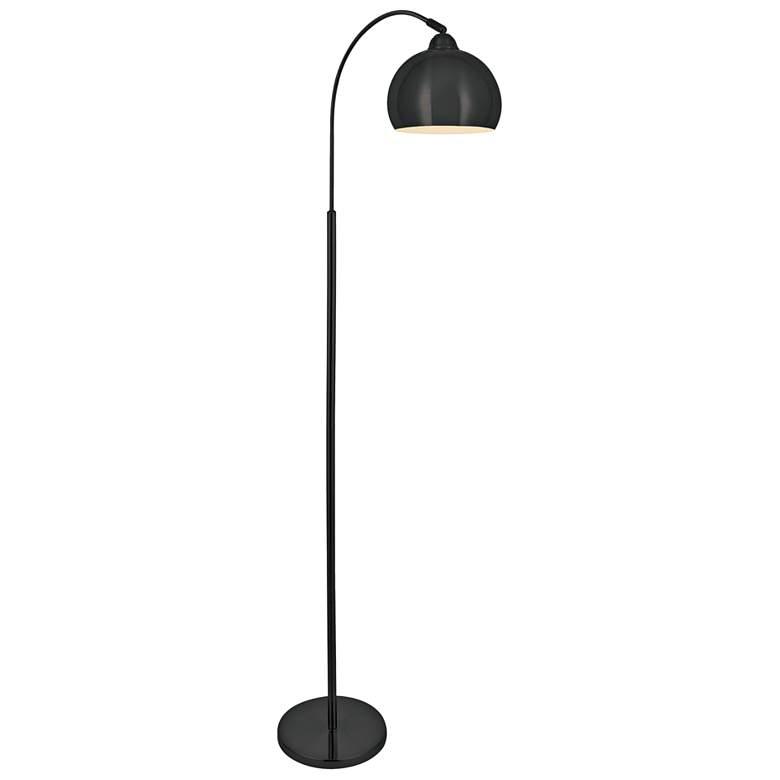 Lite Source Palesa Dark Bronze Metal Floor Lamp
