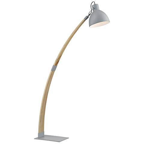 Lite Source Arden Wood Floor Lamp