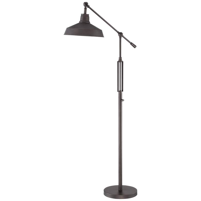Turnbuckle Downbridge LED Floor Lamp Bronze Finish
