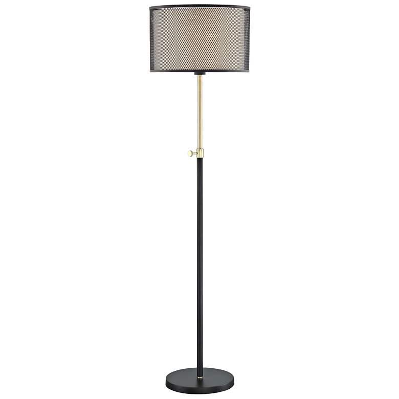 Lite Source Elena Coffee Metal Floor Lamp