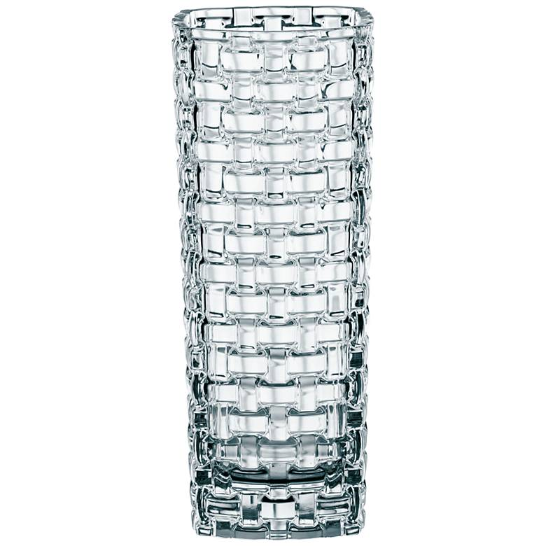 "Dancing Stars Bossa Nova 12"" High Bavarian Crystal Vase"