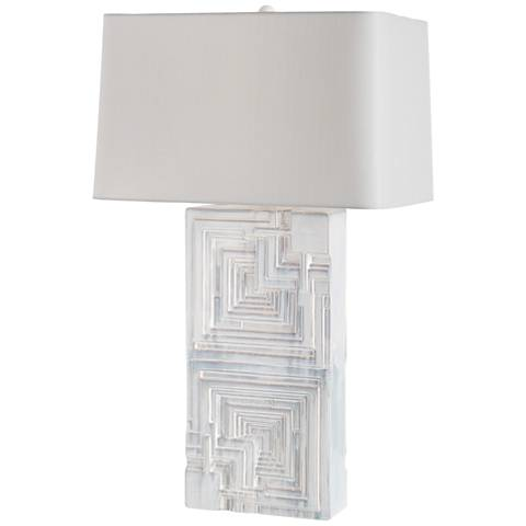 Arteriors Home Glasco Mint Wash Ceramic Table Lamp